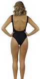 PIPPA LACE-UP SWIMSUIT - Bathing Suit
