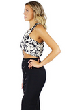 Carrie Crop Top - Bathing Suit
