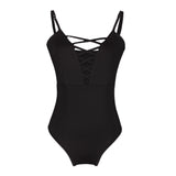 JANETH LACE UP SWIMSUIT - Bathing Suit