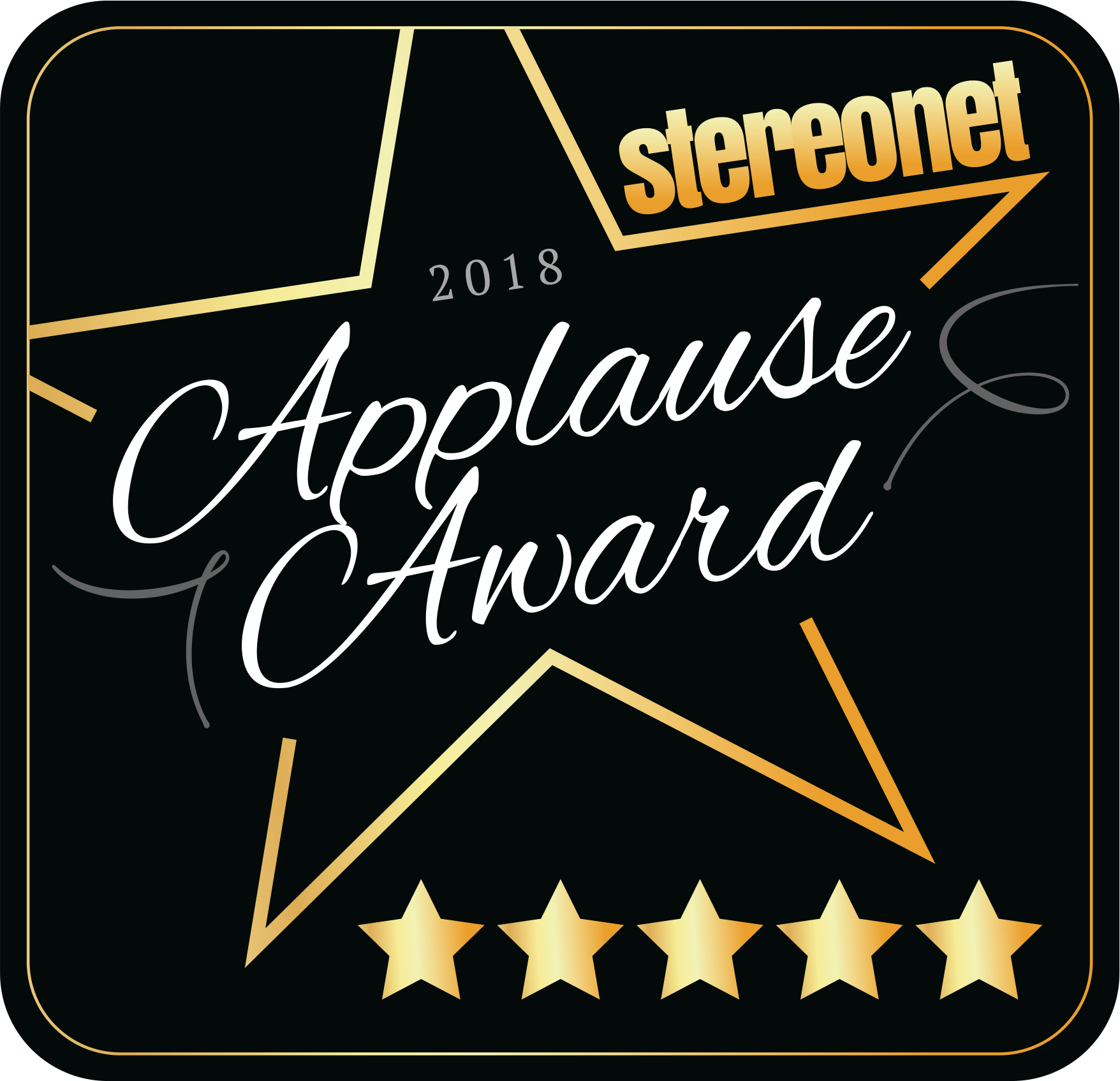 StereoNet Applause Award 2018/2019