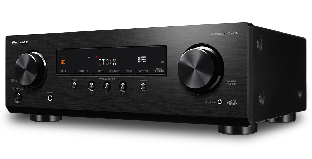 Pioneer's New Slimline, Entry-level AVR Offers Placement Flexibility