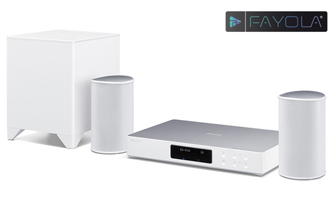 Pioneer Fayola - FS-W50 Wireless Home Theatre System