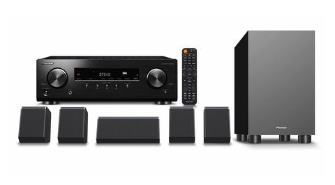 Pioneer HTP-076 5.1 Ch Home Theatre Pack with AV Receiver
