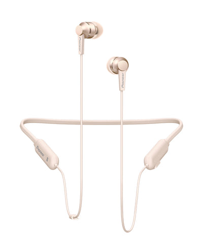 Gold SE-C7BT In-Ear Neckband Headphones