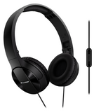 SE-MJ503T Dynamic Foldable Headphones - Black