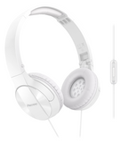 SE-MJ503T Dynamic Foldable Headphones - White