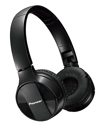 SE-MJ553BT Bluetooth Over-Ear Stereo Headphones - Black