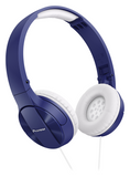 Blue Fully Enclosed Dynamic Headphones