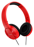 SE-MJ503 Red Fully Enclosed Dynamic Headphones