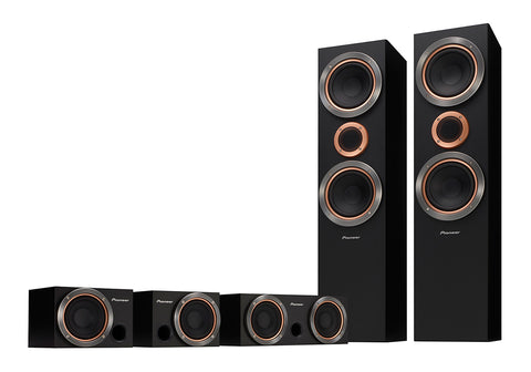TODOROKI S-RS55TB Home Cinema Speakers