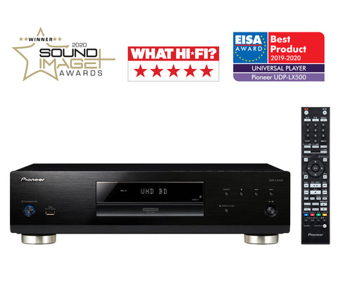 Pioneer Award Winning UDP-LX500 Universal Disc Player