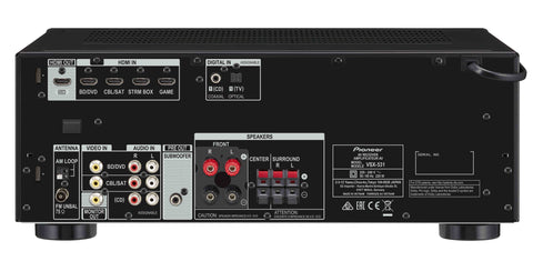 vsx 531 5 1ch av receiver pioneer home entertainment rh pioneeraudio com au Pioneer VSX D457 Operating Manual pioneer vsx-521-k 5.1 receiver manual