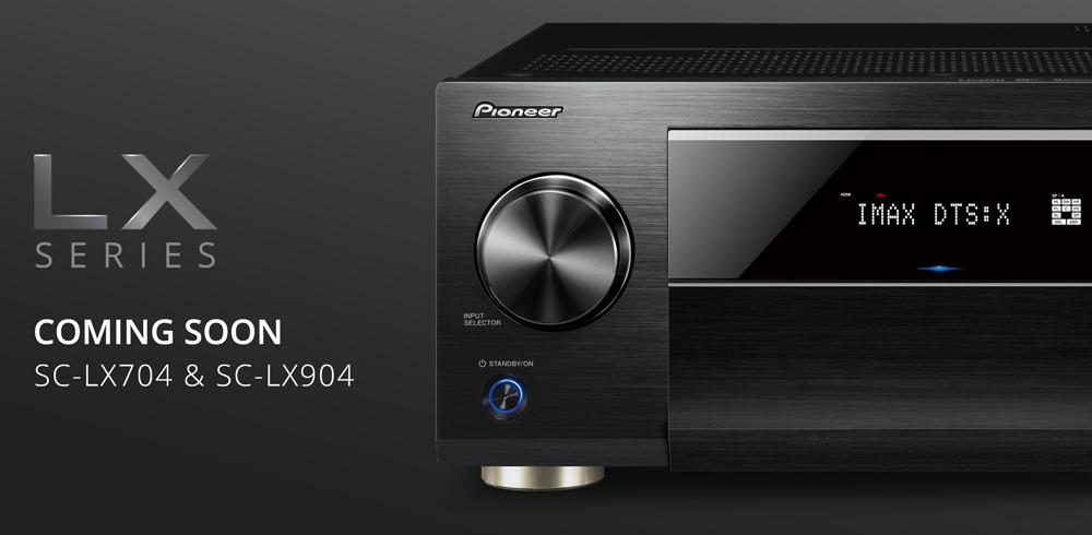 New LX AV receivers