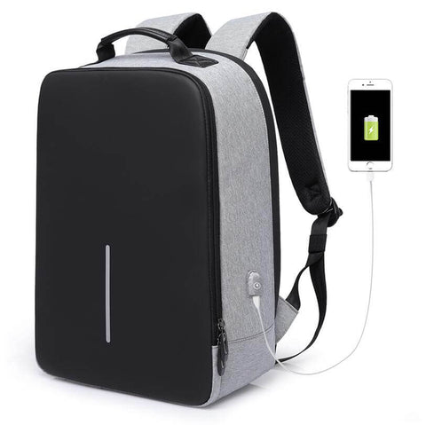 5a74ee58edb0 USB Charging Backpack Anti Theft 15.6 inch Laptop Business Travel Schoolbag  - MONT SWISS