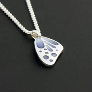 Butterfly Wing Enamel Pendant (Small)
