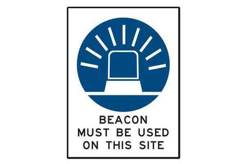 Beacon Must Be Used On Site