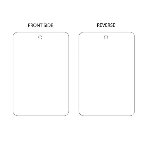 Blank White Tag (packs of 10)