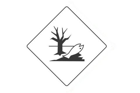 Dangerous Goods Sign Environmentally Hazardous Substance