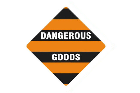 Dangerous Goods Sign Dangerous Goods