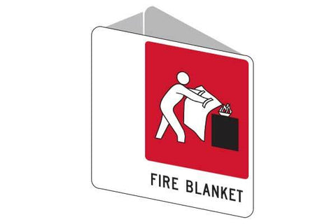 3D Fire Blanket Sign