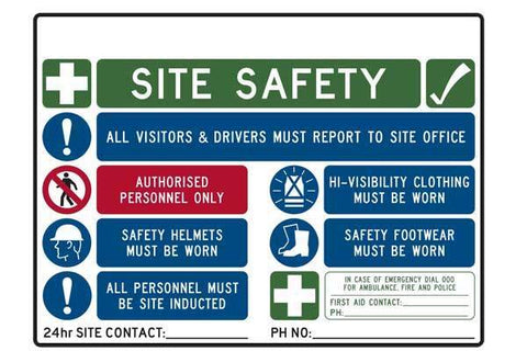 General Site Safety Sign