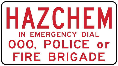 Hazchem In Emergency Dial