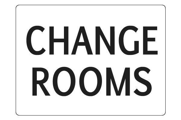 Notice Change Rooms