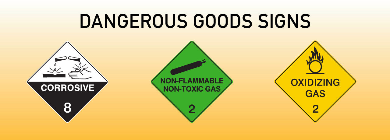 Dangerous Goods Signs