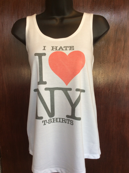 "Womens ""I Hate I Love NY T-Shirts"" Tank"