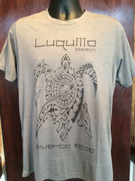 Mens Luquillo Beach Turtle Tee