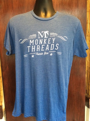 Mens Retro Monkey Threads Tee