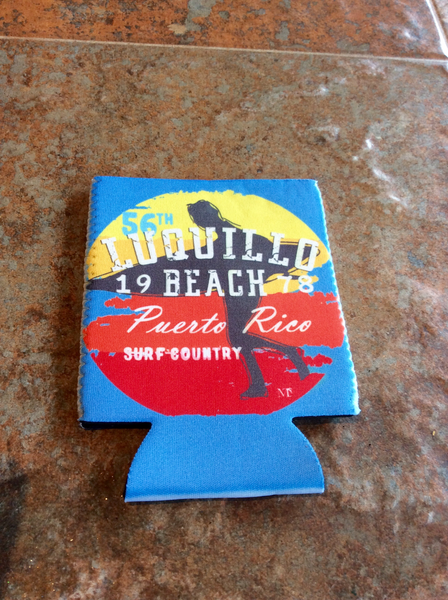 Luquillo Beach Surf Country 56 Koozie