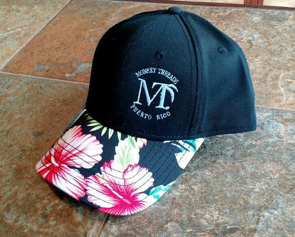Hawaiian Brim Cap