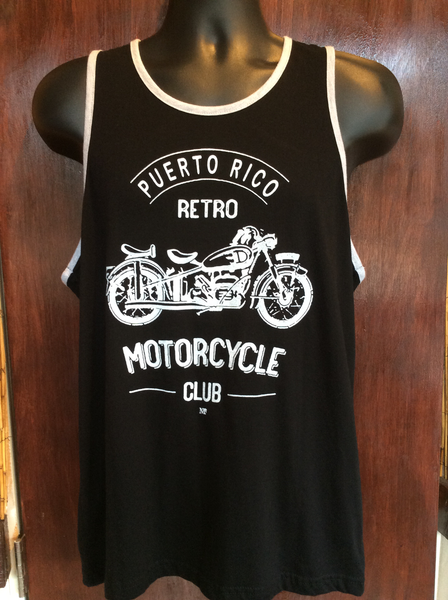 Mens Retro Motorcycle Club Tank