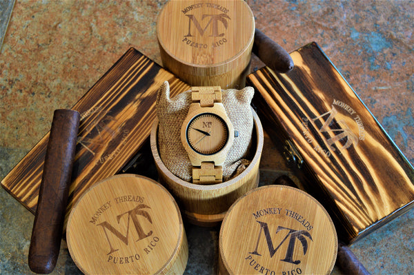 Women's Bamboo Wood Watch