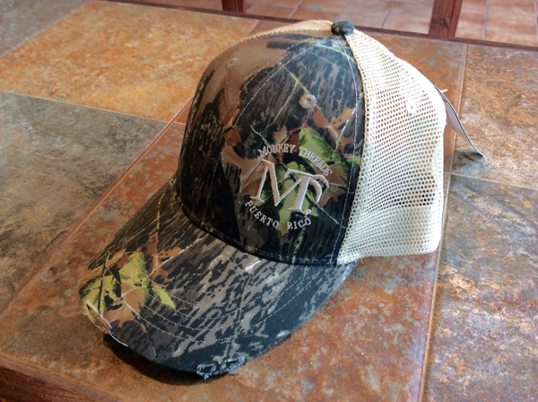 Distressed Cap Hardwoods Camo