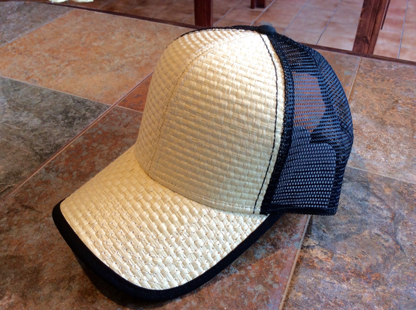 Straw Cap Black