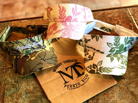 Camo & Floral Visors
