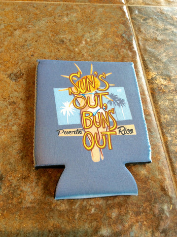 Suns Out Buns Out Koozie