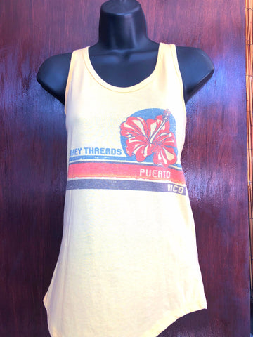 Yellow Flower Tank