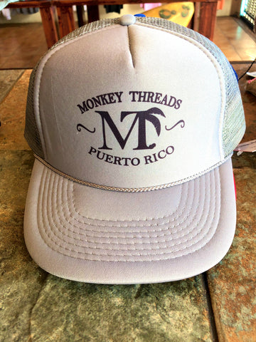 Monkey Threads Snapback - Grey