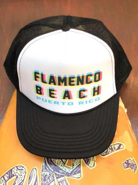 Flamenco Beach Technicolor Cap