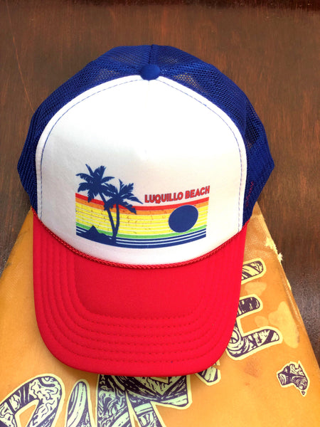 RWB Luquillo Beach Rainbow Cap