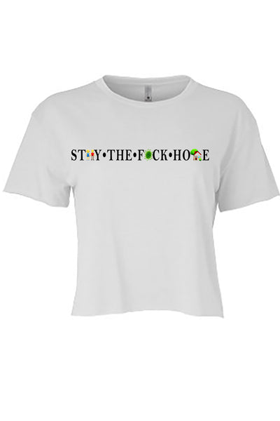 ST👫Y • THE • F🦠CK • HO🏡E  Tees
