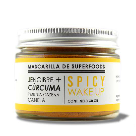 Mascarilla Spicy Wake Up (astringente/antiinflamatoria)
