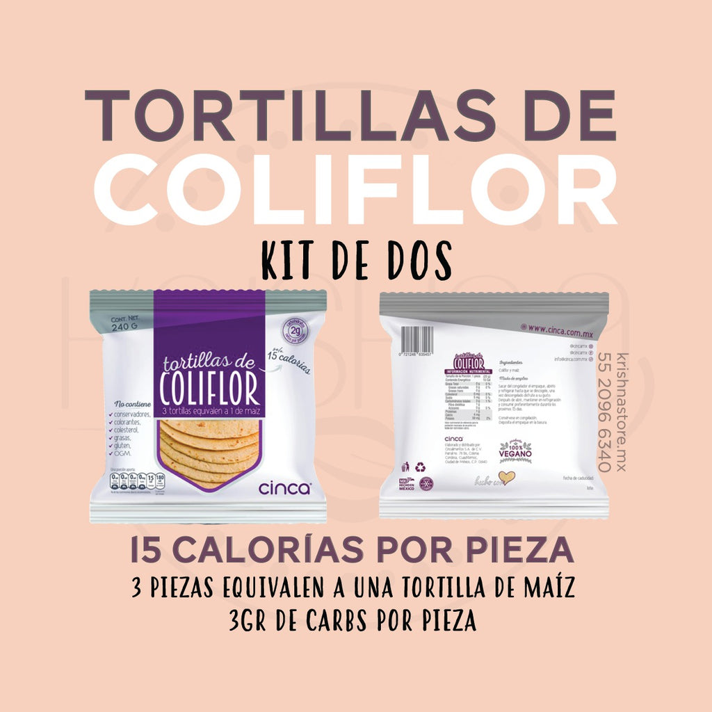 Kit 2 paquetes de tortillas