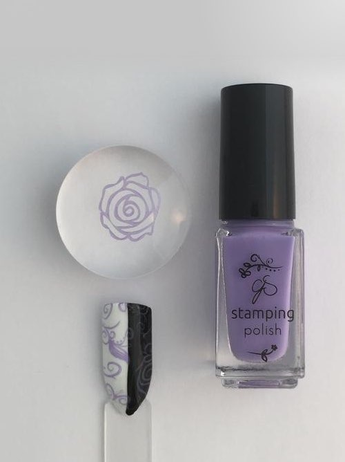 #17 Lynnie Loves Lavender - Nail Stamping Color