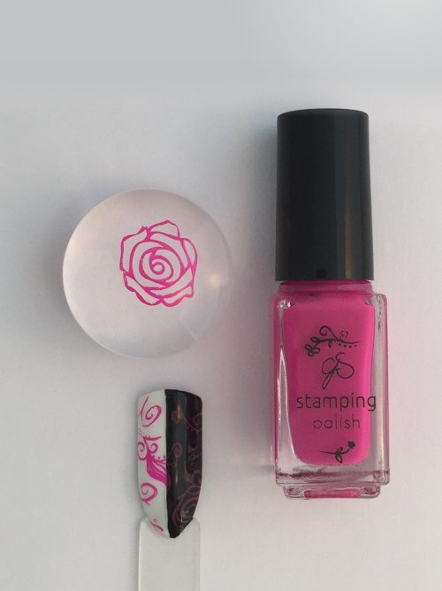 #19 Miss Maggie Mae - Nail Stamping Color
