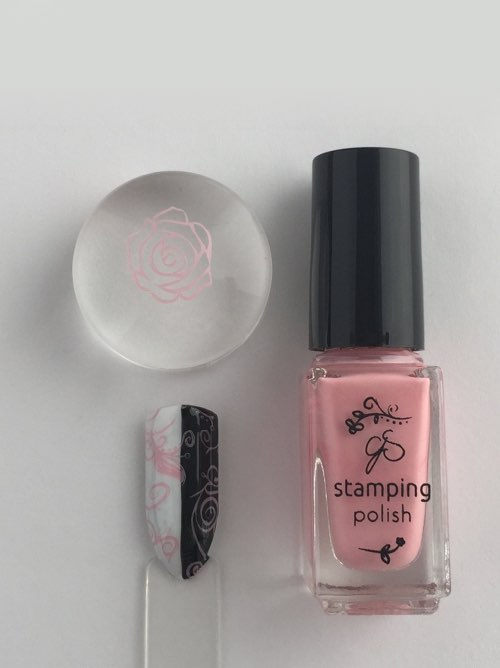 #21 Bubble Pop Pink - Nail Stamping Color