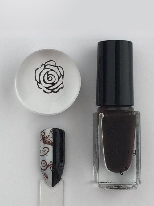 #23 Pure Cocoa - Nail Stamping Color
